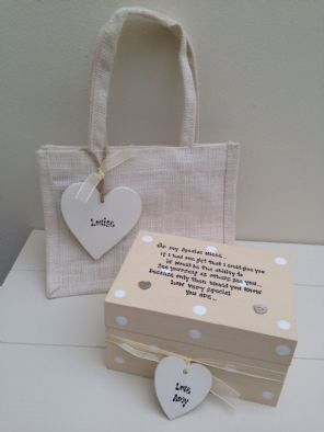 Shabby Personalised Chic Gift Set Special Niece.. Birthday Present Any Names